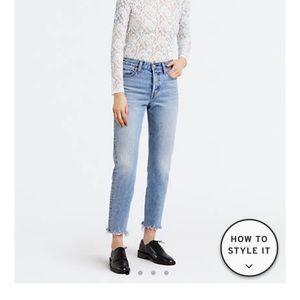 Levis wedgie fit jeans